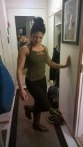 Girl with muscle - Nasim Shamlou-Juhola