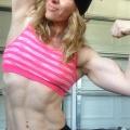 Girl with muscle - sharlene franken