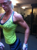 Girl with muscle - Helle Larsen