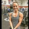 Girl with muscle - Brittany Vega