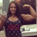 Girl with muscle - Alexis Ewers