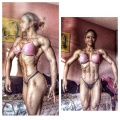 Girl with muscle - Janaina Ferreira