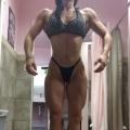 Girl with muscle - Zaskia Alarcon