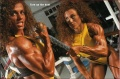 Girl with muscle - Michelle Andrea (R), Meral Ertunc (L)