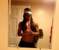 Girl with muscle - Natasha Castro