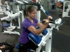 Girl with muscle - Gina Mach aka kickyoasschick