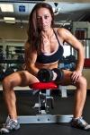 Girl with muscle - Jordan Whirl