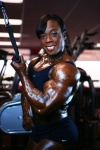 Girl with muscle - Heather Foster