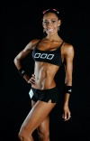 Girl with muscle - Samantha Jane Heron