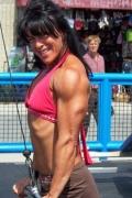 Girl with muscle - Nichole Zezima