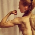 Girl with muscle - Ellyssa Brooks