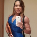 Girl with muscle - Leyvina Barros