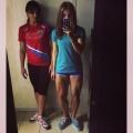 Girl with muscle - Nikolina Grigoryeva