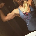 Girl with muscle - Madelen Dahlen
