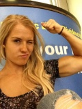 Girl with muscle - betsy