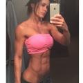Girl with muscle - Catherine Radulic