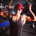 Girl with muscle - Amanda Smith