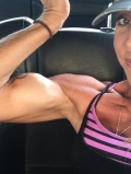 Girl with muscle - Veronica Wilborn