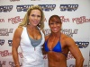 Girl with muscle - Monica Brant (L) - Melanie Duncan (R)