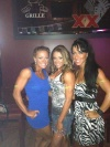 Girl with muscle - Mallory Haldeman (L) - Kimberly Muse Fischel (C)