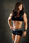 Girl with muscle - Lisa Anne O'brien-Stark