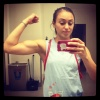 Girl with muscle - jenn