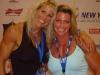 Girl with muscle - Linda Brodeur (L) - Fabiola Boulanger (R)