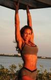 Girl with muscle - Dina Al Sabah