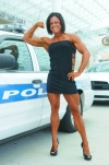 Girl with muscle - Tiffany Miller Delano