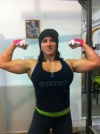 Girl with muscle - Becky