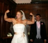 Girl with muscle - bride