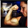 Girl with muscle - tina