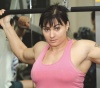 Girl with muscle - vera safanieva