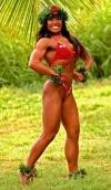 Girl with muscle - Ailina Eddins