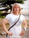 Girl with muscle - victoria sheludko