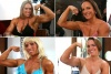 Girl with muscle - Colette Nelson(top left), Jamie Reed(top right)