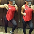 Girl with muscle - Candice Chamberland