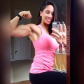 Girl with muscle - Giselle Falla