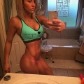 Girl with muscle - Shayler Sym