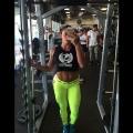 Girl with muscle - Maria Cecilia Villalba