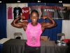 Girl with muscle - Candice Carr-Archer