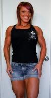 Girl with muscle - melinda
