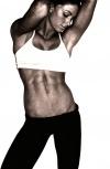 Girl with muscle - lauren lessnau