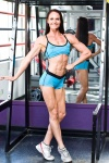 Girl with muscle - Michelle Nazaroff