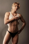 Girl with muscle - Yaroslava Nikolaeva