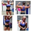 Girl with muscle - Ashlee Alfred