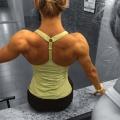 Girl with muscle - Nina Ivanovic