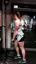 Girl with muscle - Aimee Trafford