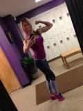 Girl with muscle - Joyce Moulton