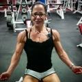 Girl with muscle - Liz Montalbano